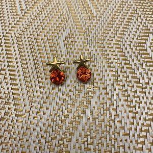 Swarovski Cora starfish earrings